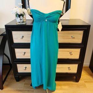 NWT Roxy | Maxi Dress Strapless